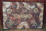 Rainbow Serpent Dreaming - original painting by Bob Sutor